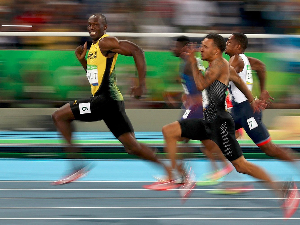 Usain Bolt Spencer Rio 2016