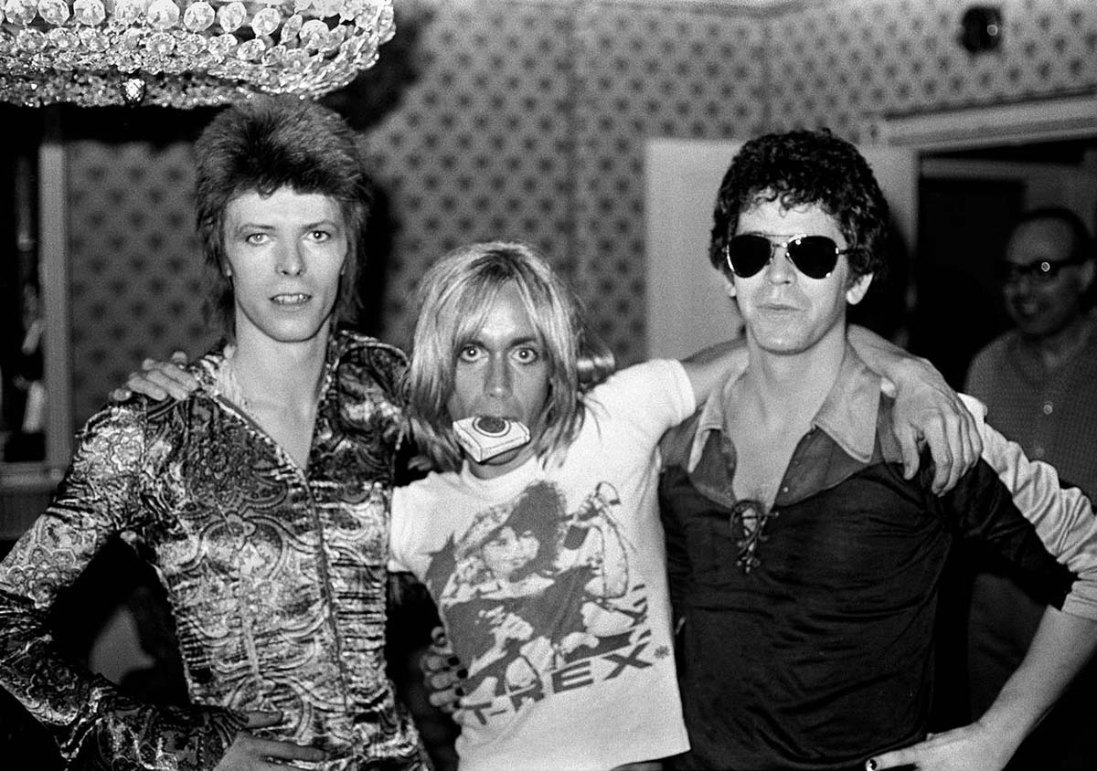 david bowie iggy pop y lou reed