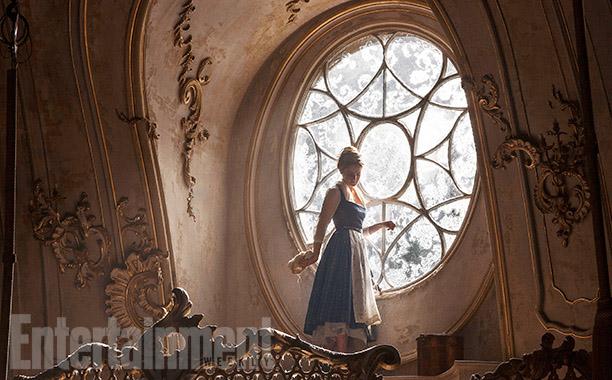 Emma Watson en La Bella y la Bestia