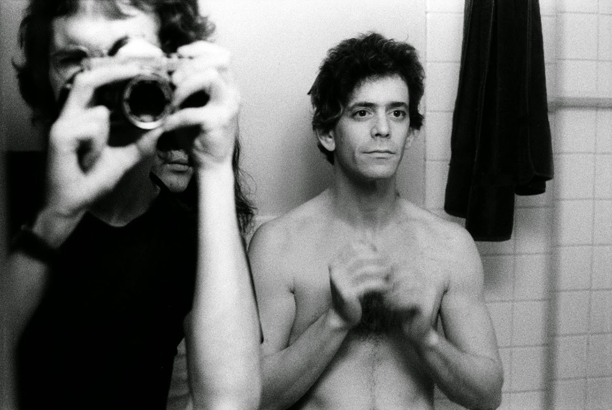 lou reed por mick rock