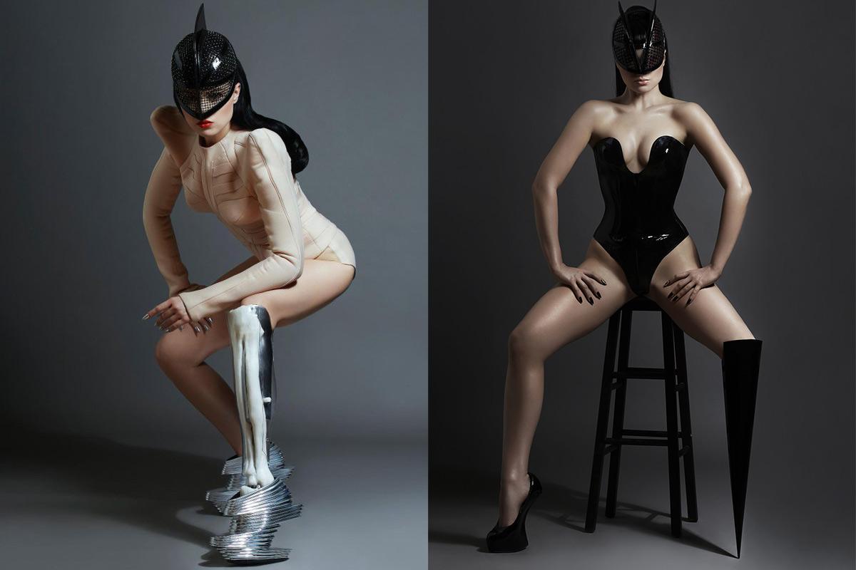 La primera artista pop biónica: Viktoria Modesta