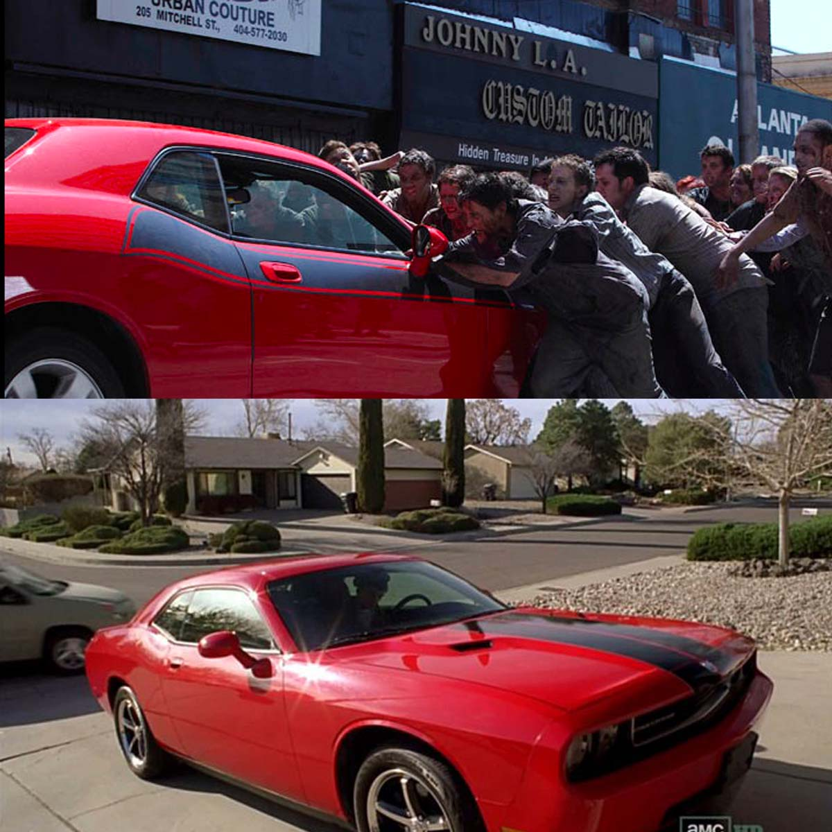 El famoso Dodge en Breaking Bad y The Walking Dead