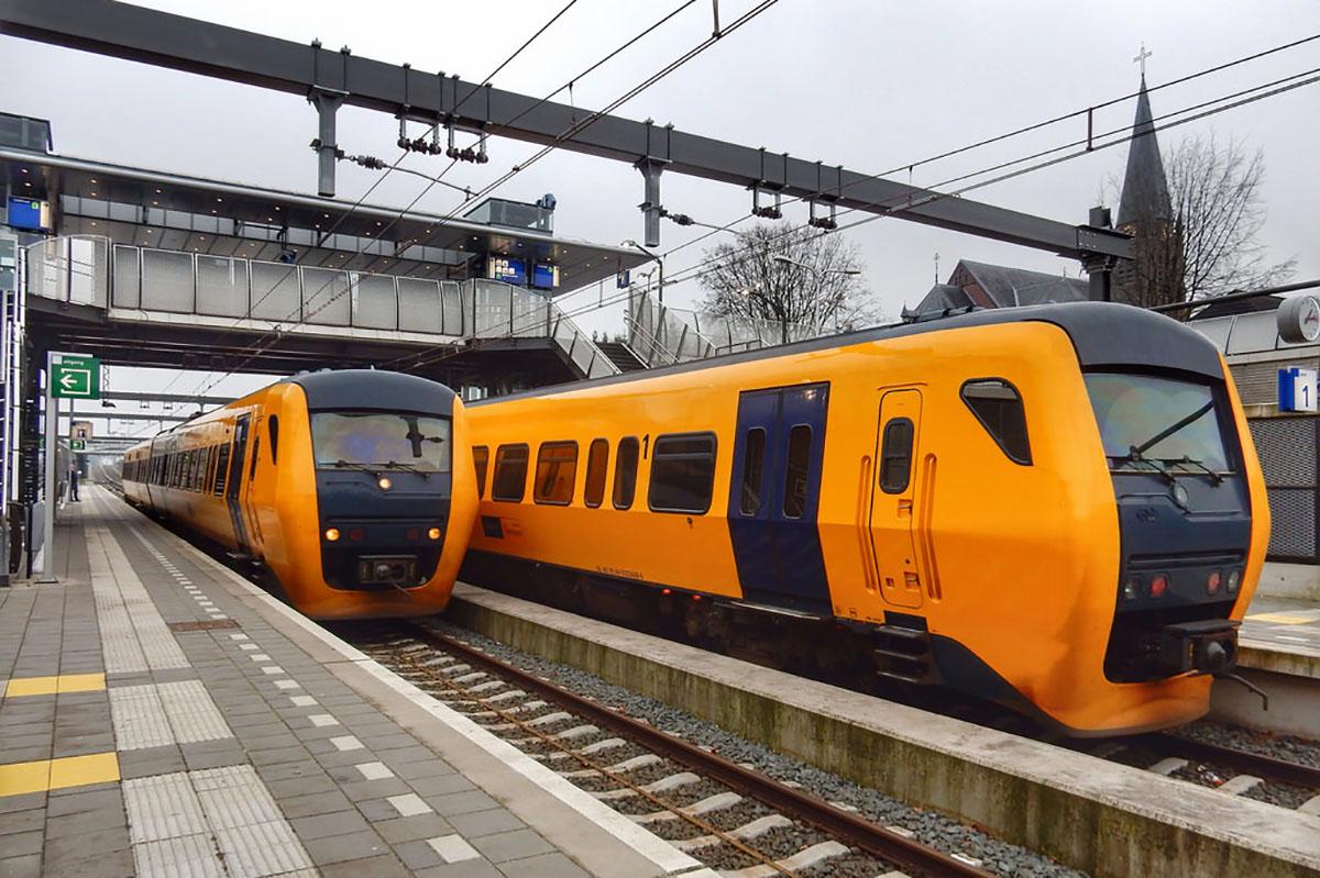 Los trenes holandeses ahora funcionan completamente con energía eólica