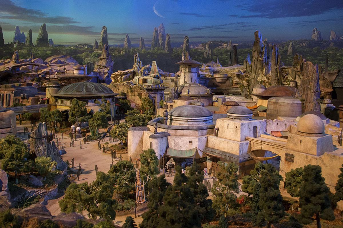 Así será el parque temático de Star Wars