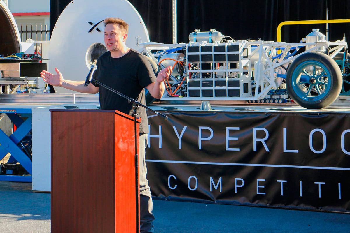 La cápsula Hyperloop alcanzó una velocidad de 323 kilómetros por hora