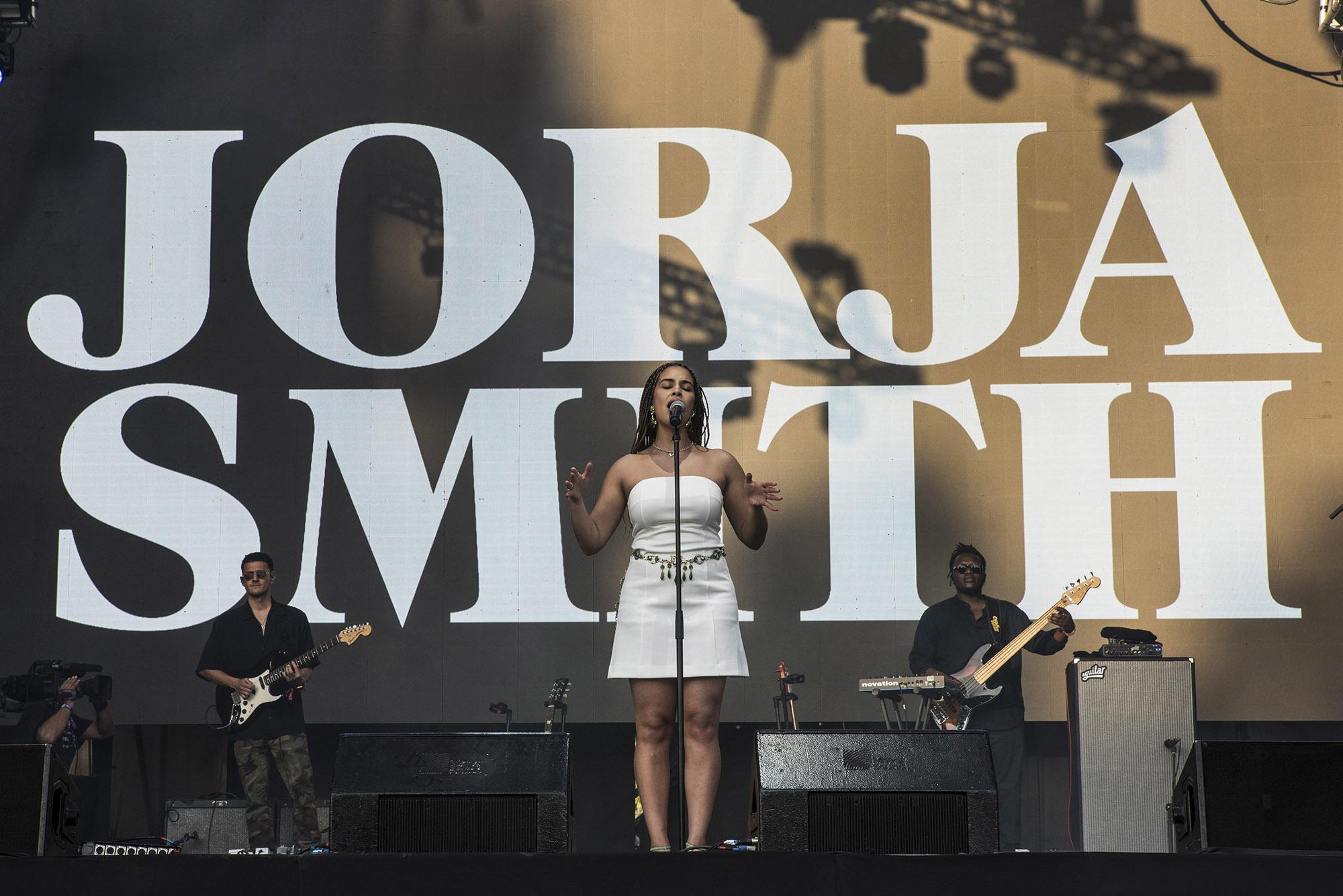 Jorja Smith en Lollapalooza Chile 2019 | Fotógrafo: Gabriel Cedrés